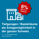 AG | Künten<br>CHF 120'000<br>5 Tiefgaragenplätze (Auto)