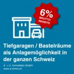 AI | Weissbad<br>CHF 50'000<br>2 Bastelräume + 2 Tiefgaragenplätze (Motorrad)